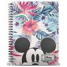 Libreta Disney Mickey Mouse A5 Floral