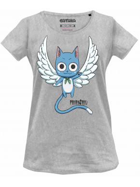 Camiseta chica Fairy Tail Happy