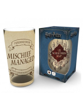 Vaso Harry Potter Mapa Merodeador 500 ml
