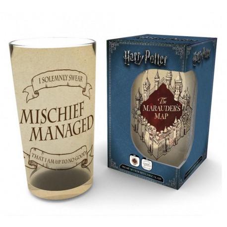Vaso Harry Potter Mapa Merodeador 500 ml
