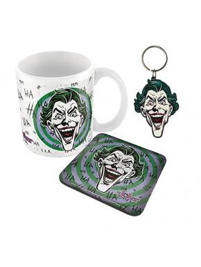 Pack regalo Joker taza, llavero y posavasos