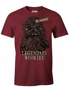 Camiseta Star Wars Legendary Wookiee