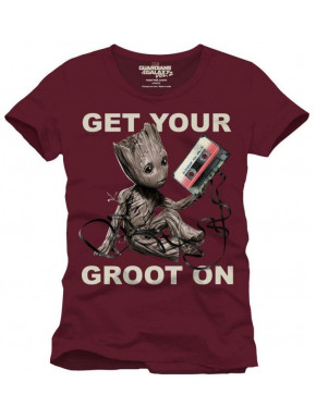 Camiseta Groot Guardianes de la Galaxia