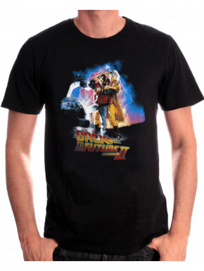Camiseta Regreso al Futuro Personajes