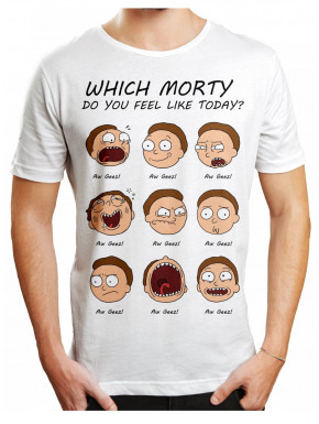 Camiseta Rick and Morty faces