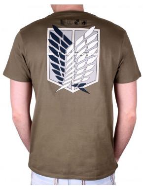 Camiseta Attack on Titan Explorer