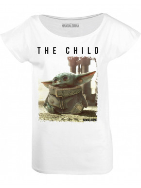 Camiseta Mujer Star Wars Baby Yoda