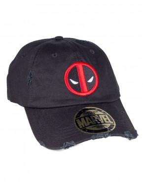 Gorra Deadpool negra vintage