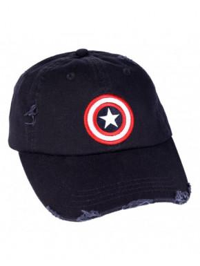 Gorra Capitán América Logo clásico
