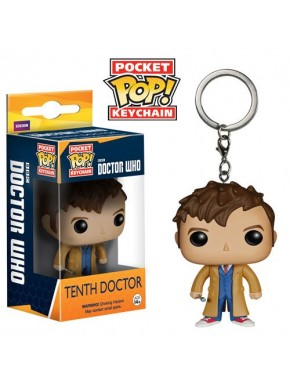Llavero mini Funko Pop! 10º Dr Who