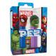 Caramelos PEZ Spiderman y Hulk Marvel