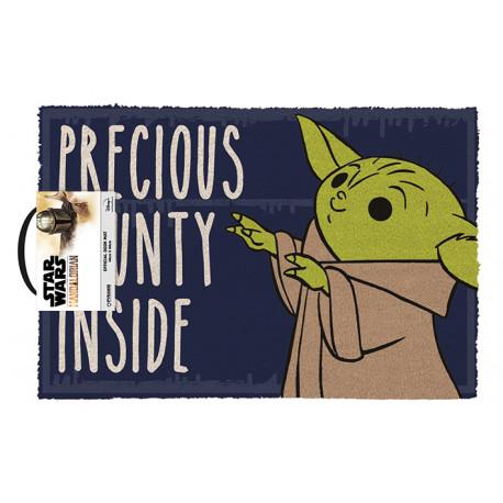 Felpudo The Mandalorian Precious Bounty Inside