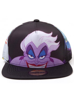 Disney - Little Mermaid Ursula AOP Snapback Cap
