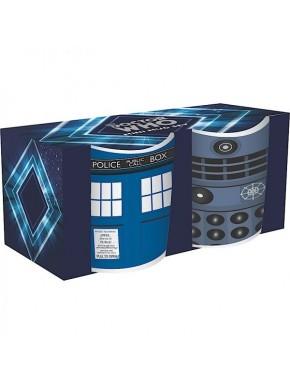 Doctor Who Set de 2 Mini Tazas