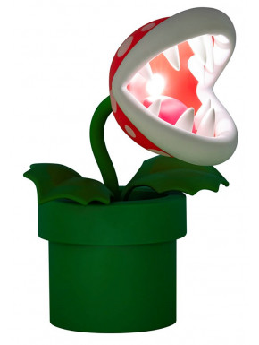Lámpara Planta Carnívora Super Mario