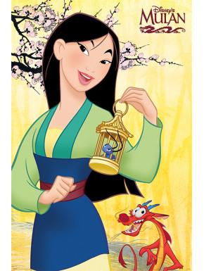 Disney Set de 5 Pósteres Mulan 61 x 91 cm (5)
