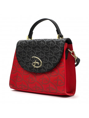 Bolso Bandolera Loungefly Disney logo collection
