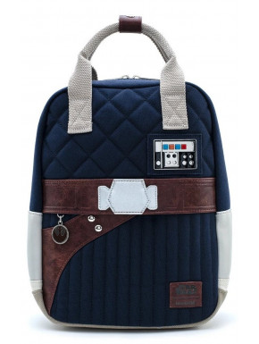 Bolso Mochila Star Wars Han Solo Loungefly LF STAR WARS EMPIRE 40TH HAN HOTH OUTFIT BACKPACK