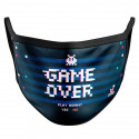 Mascarilla Reutilizable Game Over