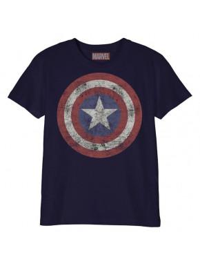 Camiseta niño Capitán América