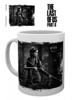 The Last of Us Parte II Taza Black and White