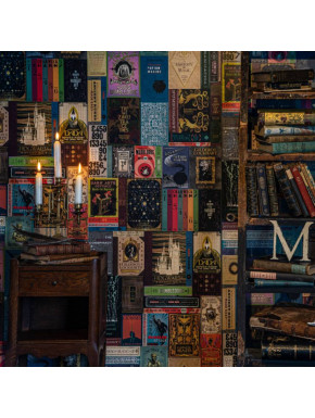 Papel de pared de Libros de Hogwarts Harry Potter