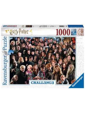 Harry Potter Challenge Puzzle Cast (1000 piezas)