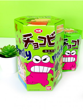 Snack de Chocolate Shin Chan tamaño familiar