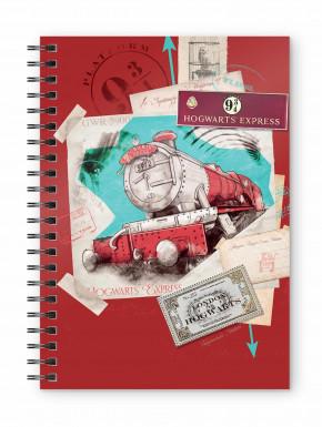Libreta Cuaderno Slytherin  Chibi