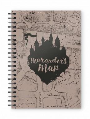 Libreta Cuaderno Mapa Merodeador