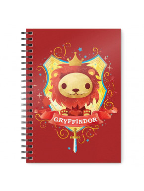 Libreta Cuaderno Gryffindor
