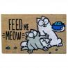 Felpudo de Coco Simon's Cat Feed me