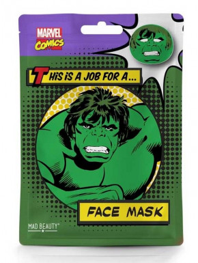 Mascarilla facial Hulk Marvel