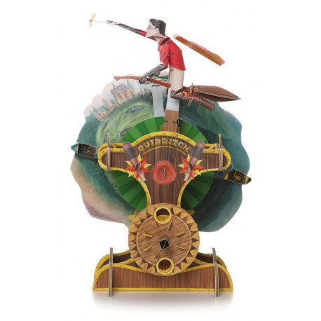 maqueta con movimiento Harry  Potter Quidditch