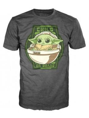 "Camiseta Mandalorian \""Child on Board\"""