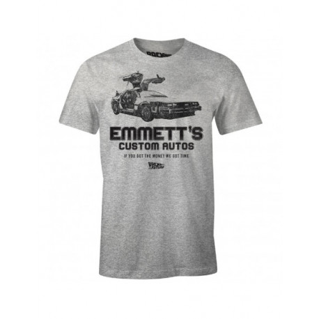Camiseta Regreso al Futuro Delorean