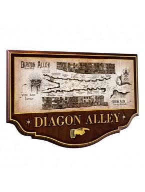 Replica cartel Diagon Alley Harry Potter