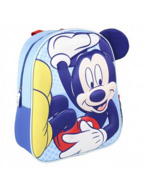 Mochila Mickey Mouse azul 3D