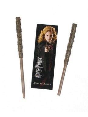 Bolígrafo y marcapáginas Hermione Harry Potter