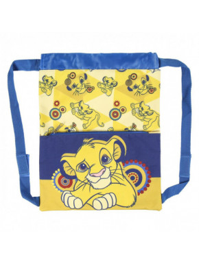 SAQUITO MOCHILA BRILLANTE LION KING