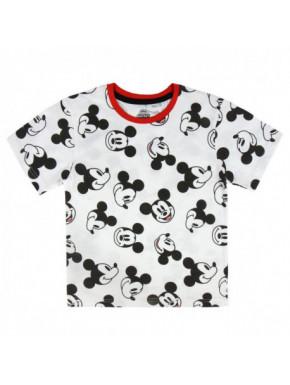 Camiseta Corta Mickey niño