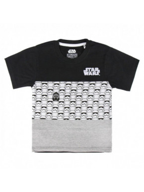 CAMISETA CORTA PREMIUM SINGLE JERSEY STAR WARS