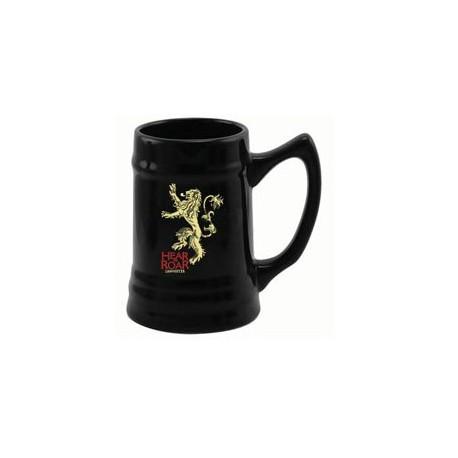 Jarra de Cerveza Lannister negra