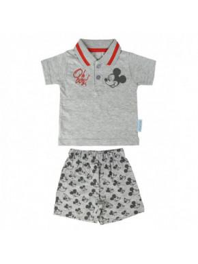Conjunto gris 2 piezas para bebés de MICKEY