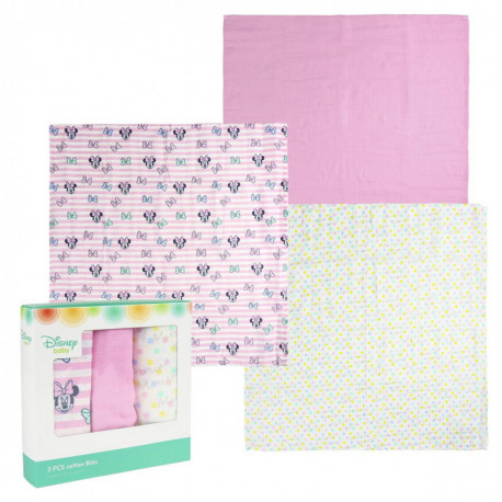 Pack de muselinas Minnie Mouse