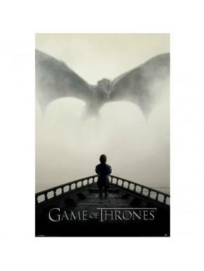 Poster Juego de Tronos Dragón Leon Tyrion