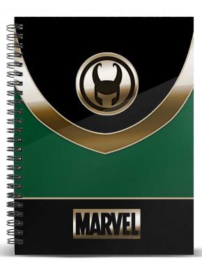 Libreta Loki A5 Marvel