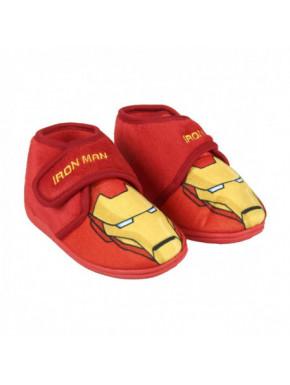 Zapatilla de casa Iron Man Niño