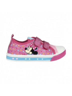 ZAPATILLA LONETA LUCES MINNIE