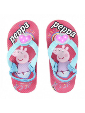 CHANCLAS LUCES PEPPA PIG